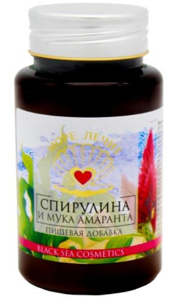 Пищевая добавка «Спирулина и мука амаранта», 130мл