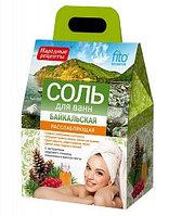 Соль для ванн Байкальская расслабляющая
