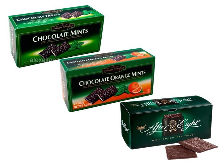 Шоколадные пластинки разные вкусы в ассортименте Maitre Truffout 200гр