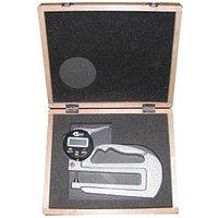Толщиномер индикаторный электронный (0-10мм), цена деления 0,001мм, L120мм (Shan 580-251)