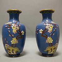 Парадные вазы «Ветка сакуры»