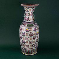 Парадная ваза «Двойное счастье» Китай. Начало ХХ века