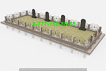 Благоустройство мусульманской могилы, фото 3