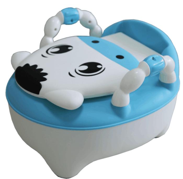 Pituso: Детский горшок ТЕЛЕНОК Голубой BLUE 31,5*22*36 см