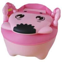 Pituso: Детский горшок ТЕЛЕНОК Розовый PINK 31,5*22*36 см