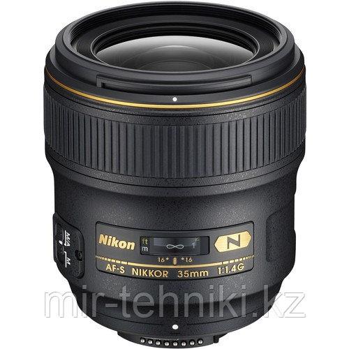 Объектив Nikon AFS 35mm F/1.4G