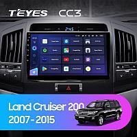 Автомагнитола Teyes CC3 3GB/32GB для Toyota Land Cruiser 200 2007-2015