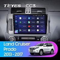 Автомагнитола Teyes CC3 3GB/32GB для Toyota Land Cruiser Prado 155 2013-2017