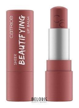 CATRICE. / Бальзамы для губ Sheer Beautifying Lip Balm 020 Цвет: розово-коричневый