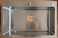 Кухонная мойка ZEUS 60х45 Нано Сатин