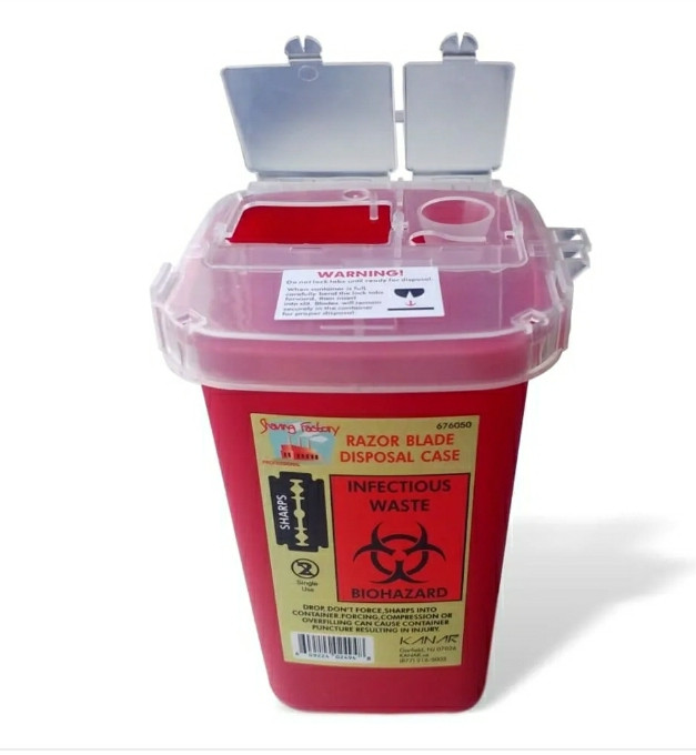 Контейнер для утилизации лезвии