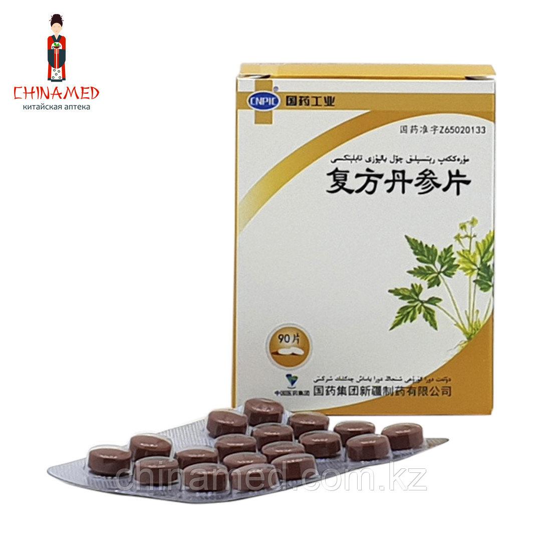 Fufang Danshen Pian/Фу Фан Дань Шэнь Пянь  Ишемия, инфаркт миокарда острый