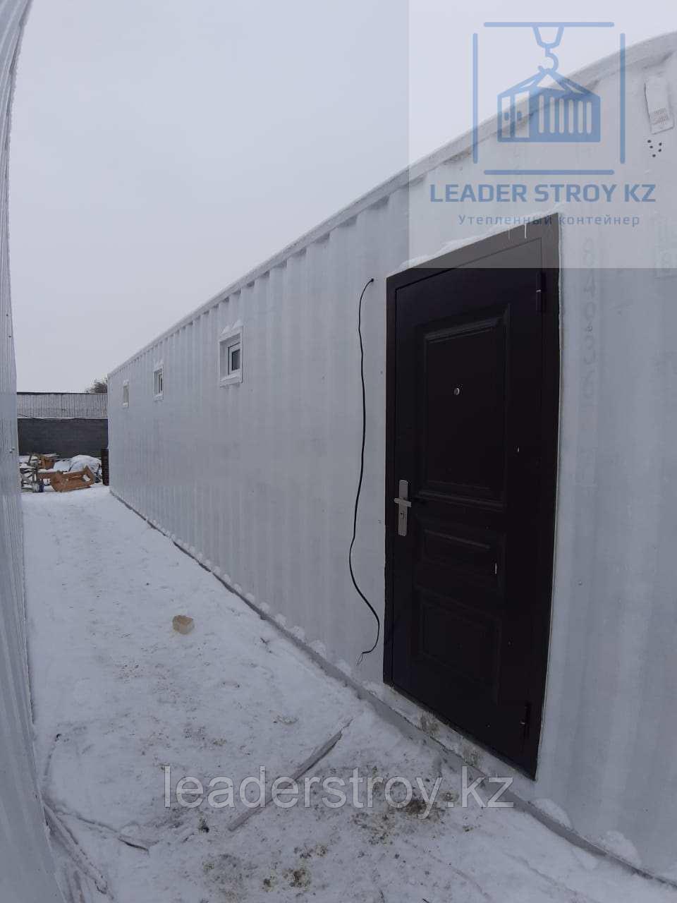 Жилой контейнер под туалет из 40 фут. контейнера