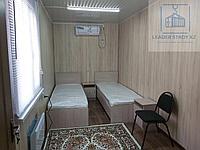 Дом из двух комнат с санузлом и душем из 40 футового контейнера, фото 1