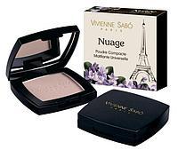 Пудра компактная Vivienne sabo Nuage Universal Compact Matt Powder