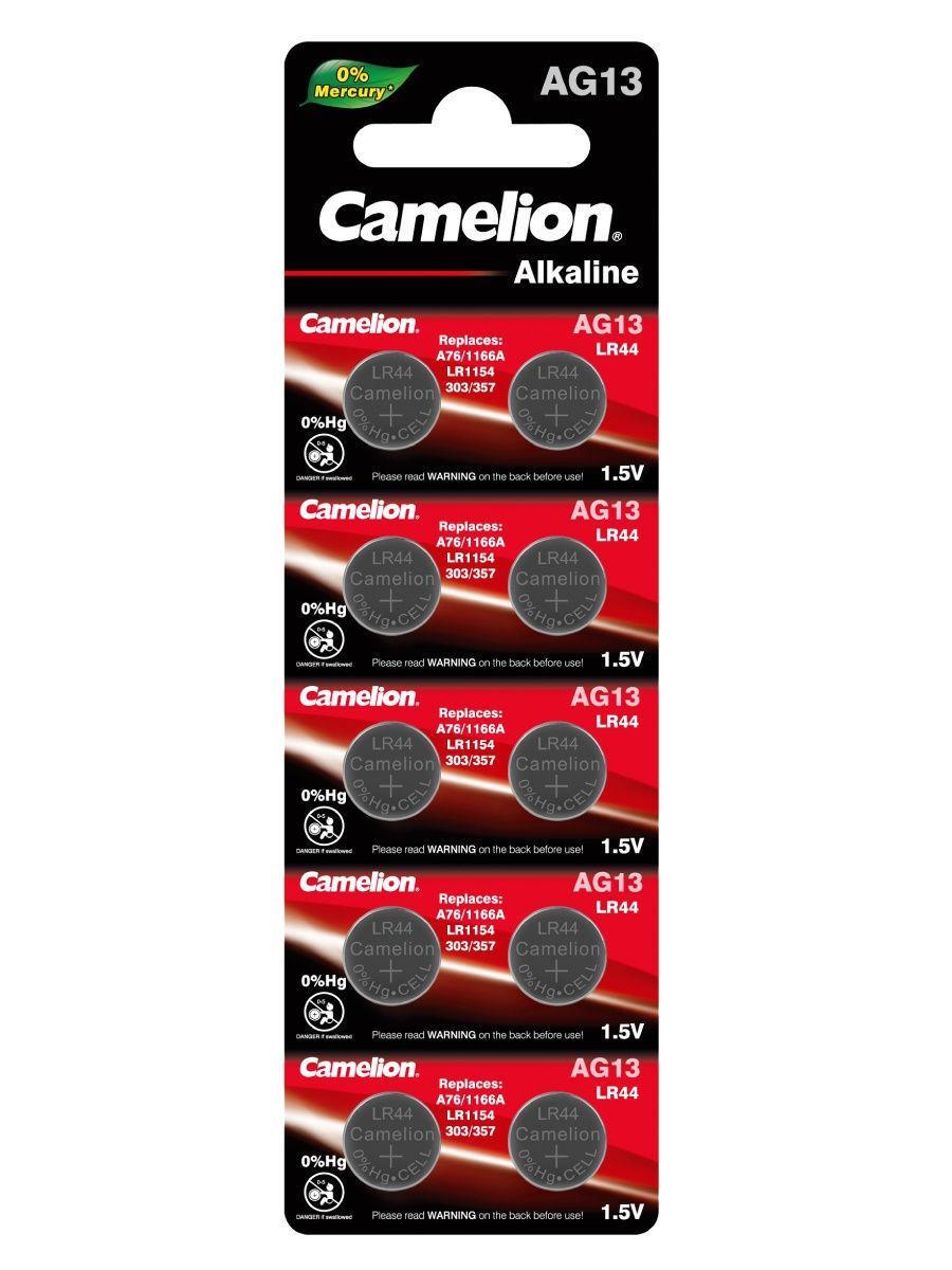 Батарейка Camelion AG13,LR44,A76,GP76A,357