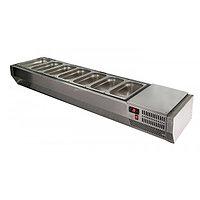 Витрина холодильная A30 SM 1,4 с крышкой Polair (VTi3-G с крышкой (GN1/4)