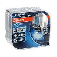Лампа автомобильная Osram Cool Blue Intense, H4, 12 В, 60/55 Вт, набор 2 шт, 64193CBI-HCB