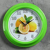 """Часы настенные """"Лимоны"""", """"Рубин"""", 21х21 см"""