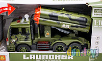 Детская игрушка военная машинка типа Катюша комбат COMBAT M012. Модель: WY650D