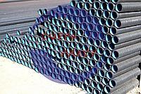 Труба SN8 Ду-110 гофрированная канализационная