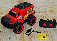 3699-J9 Пожарная машина на р/у, 4 функции, Fire rescue  31*17см, фото 1