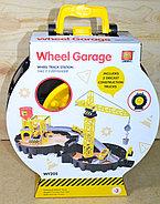 WY205 Wheel Garage строй площадка в колесе 35*29см, фото 2