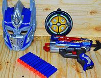 SB475 Optimus Prime маска бластер,12 пуль, 45*28см, фото 1