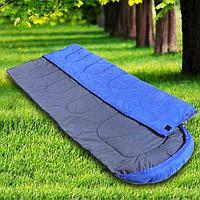 Спальный мешок синий утепленный CHANODUG