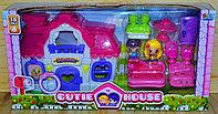 16707 Cutie House домик с мебелью,2 фигурки,звук, 49*26см, фото 1
