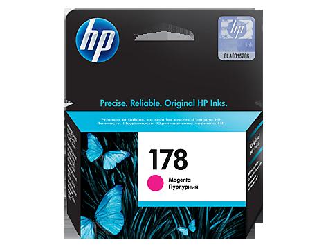 HP CB319HE Картридж пурпурный, HP 178