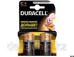 DURACELL батарейки Basic C 2шт