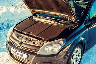 "Шумоизоляция капота и утеплитель двигателя ""HeatShield"" 2в1 L (1350х600), фото 3"