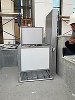 Вертикальный подъемник для инвалидов с ограждением ВПМ-02