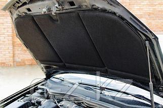 """Шумоизоляция капота и утеплитель двигателя """"HeatShield"""" 2в1 XL (1350х800), фото 2"""