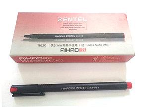 AIHAO ZENTEL 8620 0.5mm гелевая красная