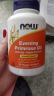 Now Foods, Супер примула 1300 мг. в 1 капсуле, масло примулы вечерней, 120 капсул.