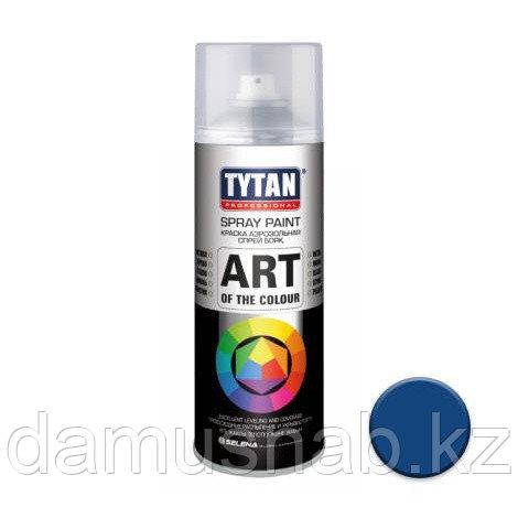 Краска аэрозольная синяя 400 мл TYTAN