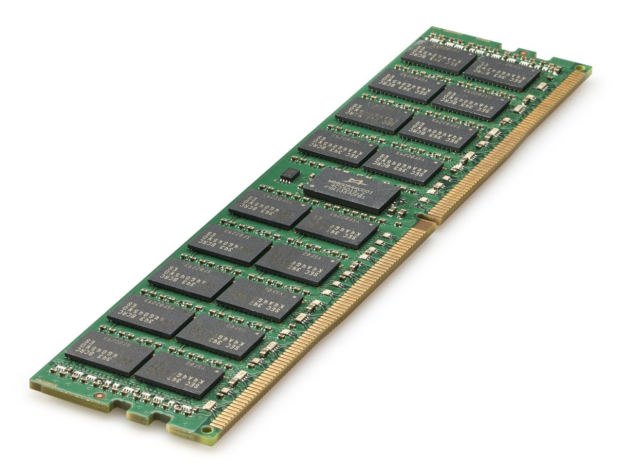 Модуль памяти 835955-B21 HPE 16GB (1x16GB) Dual Rank x8 DDR4-2666 CAS-19-19-19 Registered Smart Memory Kit