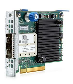 Плата коммуникационная HPE HPE Ethernet 10_25Gb 2-port 640FLR-SFP28 Adapter