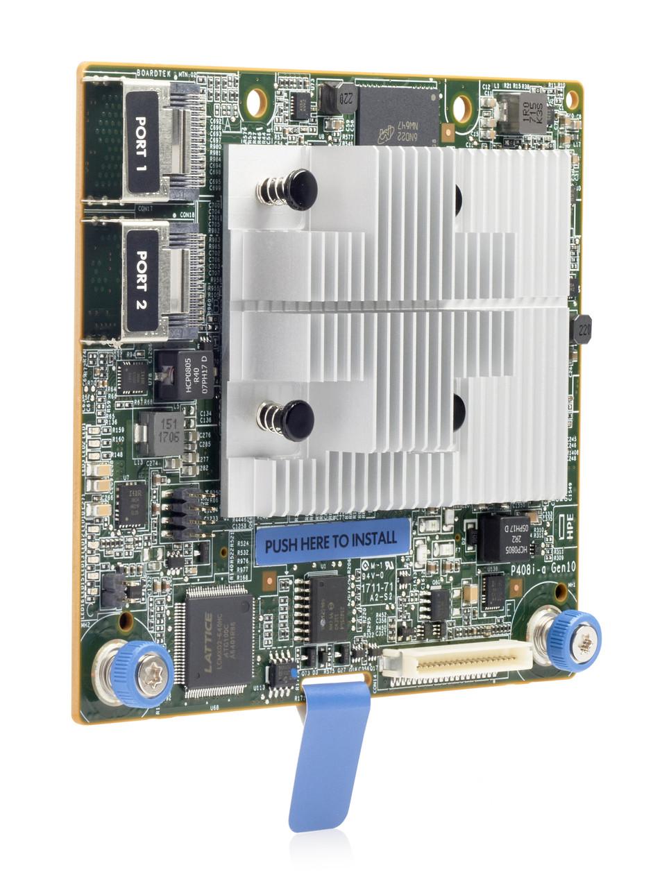 Контроллер RAID 804331-B21 HPE Smart Array P408i-a SR Gen10 (8 Internal Lanes/2GB Cache) 12G SAS MODULAR