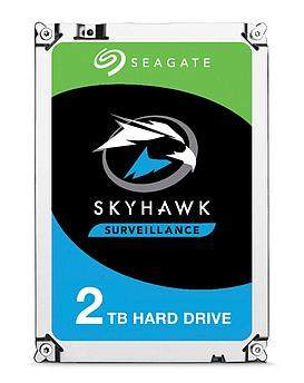 "Накопитель на жестком магнитном диске Seagate Жесткий диск HDD 2TB Seagate SkyHawk ST2000VX008 3.5"" SATA 6Gb/s"