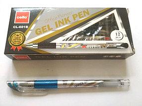 Ручка Cello CL-601B гелевая синяя