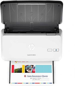 Сканер HP Сканер HP L2759A ScanJet Pro 2000 S1 Sheetfeed Scanner (A4), 600 dpi,  24ppm/48ipm, 1 pass dpulex,