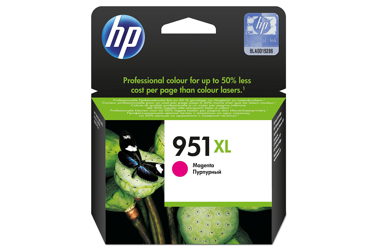 HP CN047AE Magenta Ink Cartridge №951XL for Officejet Pro 8100 ePrinter /Officejet Pro 8600 e-All-in-One, up