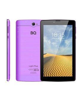 """Планшет BQ-7038G Light Plus (7"""" IPS 1024*600, 3G, 4х1.3 GHZ, 2GB+16GB, 2400mAh, Andr.9) violet"""