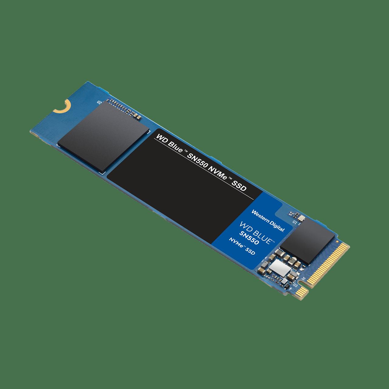 Накопитель твердотельный WD Твердотельный накопитель SSD WD Blue SN550 WDS100T2B0C 1ТБ M2.2280 NVMe PCIe Gen3