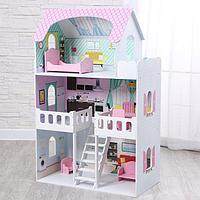 Куколный дом «Пастила» с интерьером и мебелью