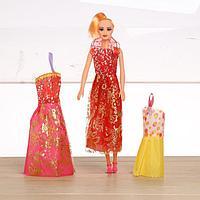 Кукла модель «Оля» с набором платьев, МИКС
