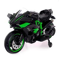 Электромотоцикл «Спортбайк», 2 мотора, цвет чёрный